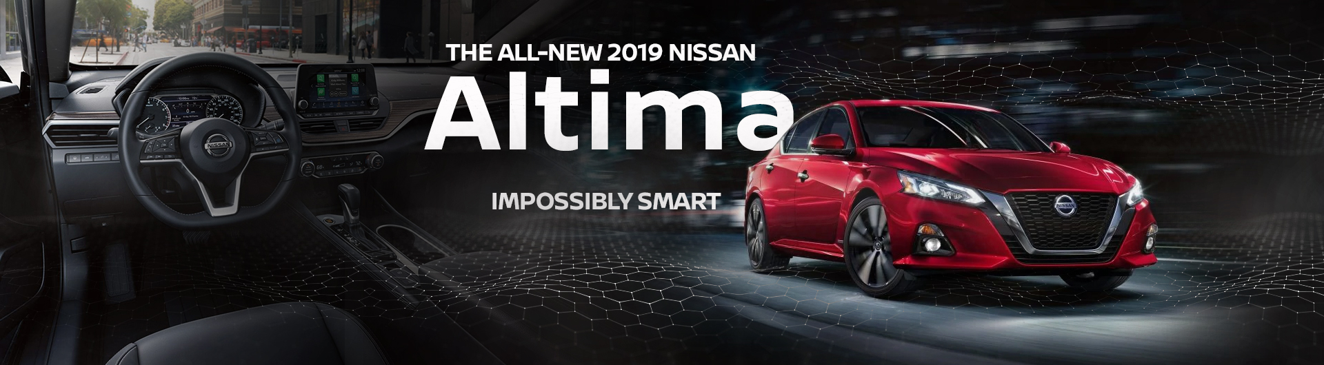 A New 2019 Nissan Altima at Jackie Cooper Nissan in Tulsa Oklahoma