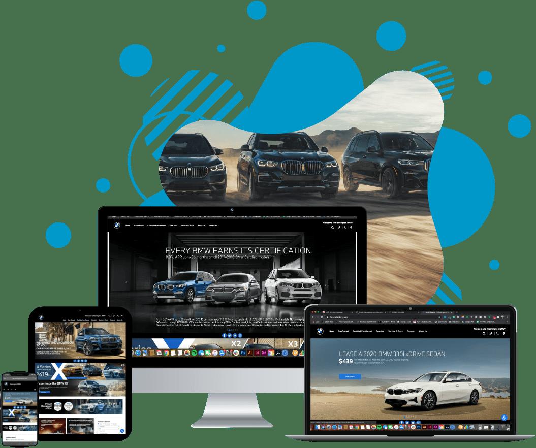 Flemington BMW website