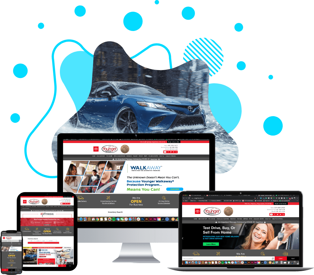 Younger Toyota website